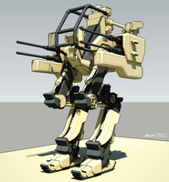 WIP - Mechanized Infantry Heavy Weapons Platform 3 by freiheitskampfer