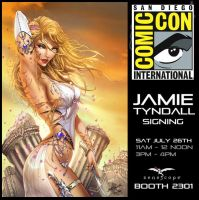 San Diego Comic Con Booth Signing by jamietyndall