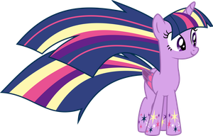 Twilight Sparkle - Rainbow Power by Elsia-pony