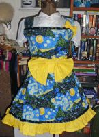 Starry Night Dress by StubbornCupcake