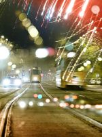 night tram by ultheus