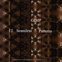 Gimp Light Play Patterns by feniksas4