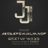 JJ Project bounce   font by StillPhantom