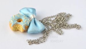 Baby blue donut by Lovely-Ebru