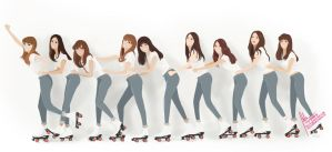 Gee SNSD by Ihlita