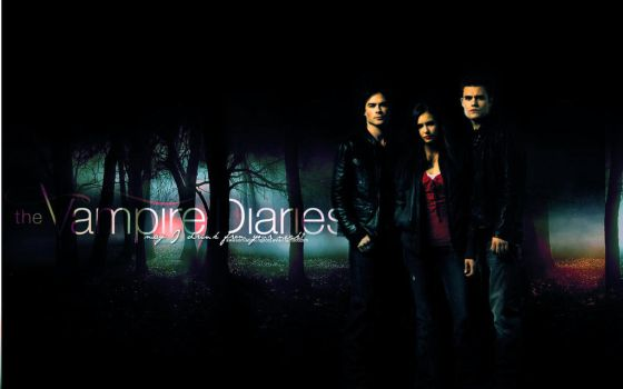 The Vampire Diaries Wallpaper by awesomedesing