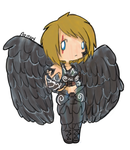 Aemort Chibi Commission by MespriteDrawings