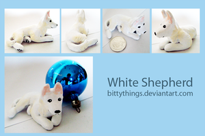 White Shepherd - GIFT by Bittythings