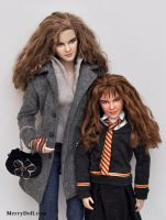 Hermione and Rose by mary-vassilieva