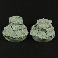 Dark Temple Ruins 40mm Bases by RistulsMarket
