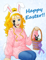 Happy Arkhamite Easter!! by ShadOBabe