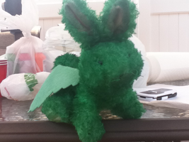 Flying Mint Bunny by KnucklestheEchidna25