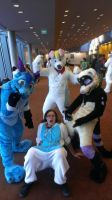 [fursuiting intensifies] by Frosted-Monster