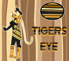 Steven Universe OC - Tiger's Eye by GoopyCat by HewyToonmore
