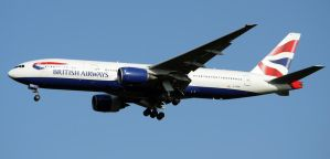 British Airways Boeing 777 Landing by shelbs2