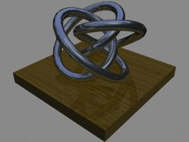 False Reflection Knot by krTsukasa