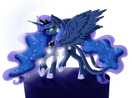 Princess Luna by ByJefferityMoonlight