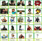 New X-Box fighter roster by Werewolf-Hero