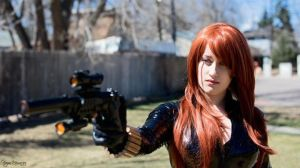Back up! - Black Widow Cosplay by St3phBot