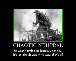 Godzilla: Chaotic Neutral by gamera68