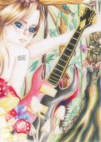 My guitar through the woods by sucuri