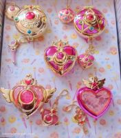 Gashapon Compacts and Die Cast Sets by Naneia