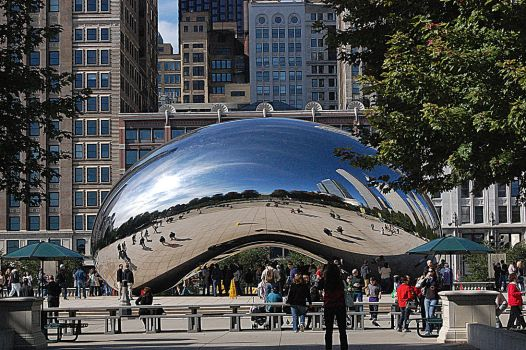 Cloud Gate by let-me-be-yours