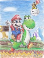 Super Mario World by Kanis-Major