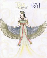 The Goddess Isis by MyWorld1