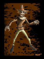 SCARECROW from batman animated by Chadfuller