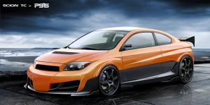 psas scion tc by psas