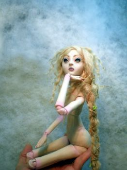 Rapunzel Ball jointed doll A by cdlitestudio