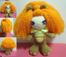 Crochet Jeje Lioness by swallowtt