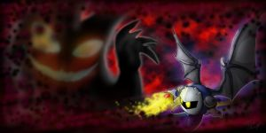 Meta Knight - Nightmare Slayer by aliceapproved