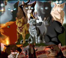 Warrior Cats: Power of Three by snowyfoot3000