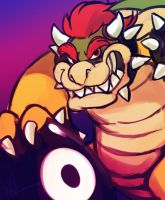 Villain Month 2014 - 031 - Bowser by AndrewDickman