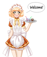 Fukuro says welcome! by MewMizu