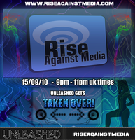 Rise Against Media Poster by Conceite