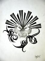 Skull Design  by forever-broken92