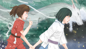 Spirited Away by miriani