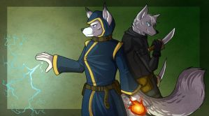 Fox Banner by howlingvoice