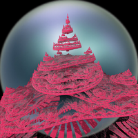 Pink Castle by infinityfractals