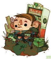 Fallout 3 Dude by michaelfirman