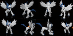 mega absol figure by unseenpsychotichell