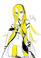 Vocaloid - Lily sketch by cullets