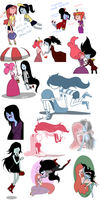 Tumblr Dump 7 Bubbline Edition by dettsu