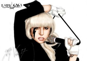 Lady Gaga_coloured by vani27