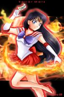 Sailor Mars by Aleccha