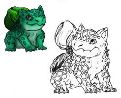 Bulbasaur?  xD by Queen-Triva