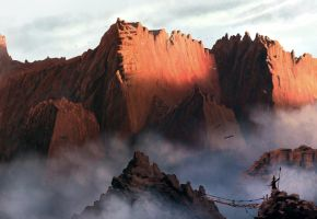 The Red Mountains by HetNoodlot